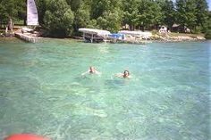 Crystal clear...Torch Lake, Michigan