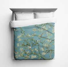 Almond Branches, Van Gogh Duvet Cover - Made in USA