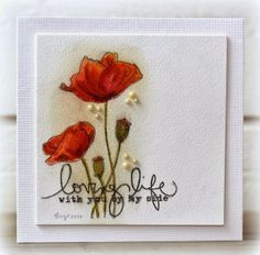 penny black stamp demure card ideas - Google Search