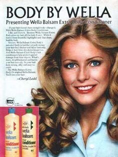 Cheryl Ladd for Wella.