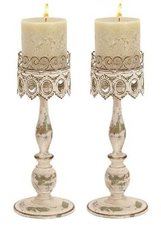 Deco 79 68715 Metal Candleholder Pair *** For more information, visit image link. Note:It is Affiliate Link to Amazon.