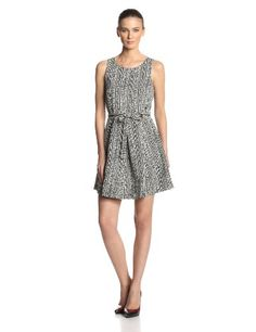 Plenty by Tracy Reese Women's Sasha Printed Faille Fit and Flare Dress, Woodblock, 8 Plenty by Tracy Reese http://www.amazon.com/dp/B00IDWDU86/ref=cm_sw_r_pi_dp_7M80ub06SE919