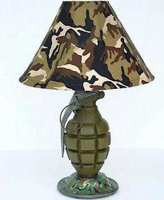 Grenade lamp..