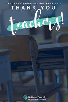 Though desks may be empty, student's hearts are still full- thanks to you! Here are some teacher appreciation week ideas!  #ThankATeacher