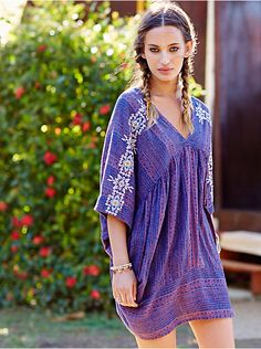 Free People Tribal Beat Kaftan, $168.00