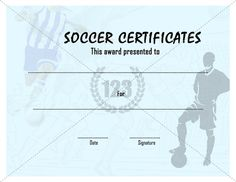 Free Template For Certificate Sports Certificate Template  Certificate Templates  Sports .