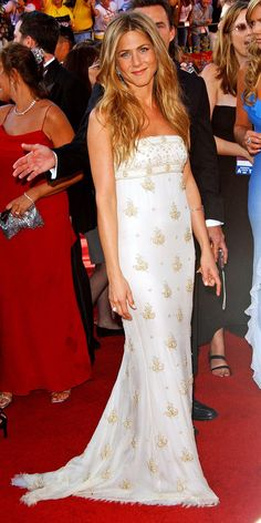 We Found Jennifer Aniston's 10 Best Red Carpet Looks of All Time - Chanel Haute Couture, 2004 - from InStyle.com