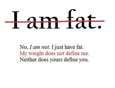 try to get rid of the fat.
