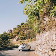 PicNice sur Instagram: Escapade romantique sur les routes de l'arrière pays niçois au volant de la Porsche 550 spyder de @rentaclassiccareurope