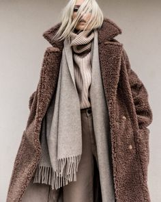 Shades of beige Winter Fashion Outfits, Fall Winter Outfits, Look Fashion, Autumn Winter Fashion, Casual Outfits, Womens Fashion, Fashion Trends, Cute Outfits, Pijamas Women