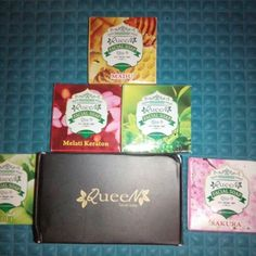 1 paket berisi 5 pcs sabun Queen Herbal