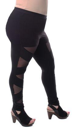 Plus size leggings from cult of california