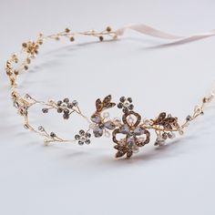 >> Click to Buy << Vintage Bridal Hair Vine Crown Rhinestone And Pearl Bridal Headband Tiara Wedding Hair Accessories Fashion Bridal Jewelry  #Affiliate