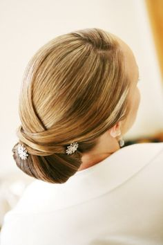 All New Wedding Hair! Romantic & Soft Wedding Up Dos you'll Love - Bridal Chignon by Susan Peggs - Wedding Blog | Ireland's top wedding blog with real weddings, wedding dresses, advice, wedding hair styles, wedding venue guides and more