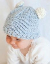 Knit this adorable hat in a day!