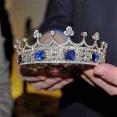 "europesroyalsjewels: "" Queen Victoria's Sapphire Coronet ♕ Victoria & Albert Museum """