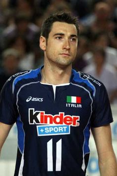 Cristian Savani, an italian volleyball player