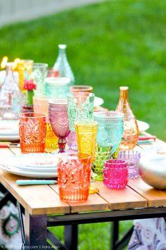 Backyard Boho Tiki Party by Kara's Party Ideas | Kara Allen | KarasPartyIdeas.com