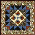Cabin In the Woods Quilt  Pattern Download quilt patterns, quilting patterns, quilt pattern