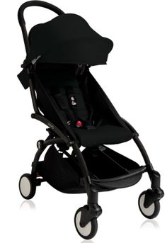 Baby Zen Yoyo+ 6+ Color Pack(2016) Stroller Bundle-Black - Belle Bellina  - 1