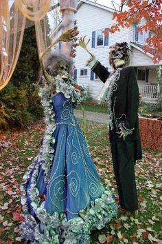 "A scene from what is known as ""Halloween on Tillson Street"" in Romeo. More than two dozen homes are decked out for Halloween, an annual display in the Macomb County community. Photo taken on Oct. 26, 2011."