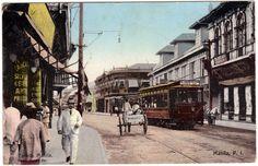 Escolta, Manila Street Scene