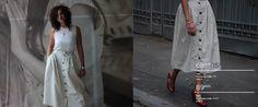 Ruth Orkin skirt.  '60s vintage piece.  100% linen.