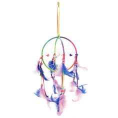 Wholesale Dream Catchers Wholesale Purple Rainbow Dream Catcher  Something Different
