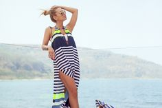 The Classic Navy Spring Summer Fashion, Cover Up, Swimming, Navy, Classic, Beach, Sun, Outfits, Dresses