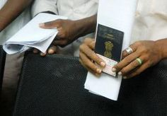 Indian citizens must declare currency over Rs. 10,000 Only when flying abroad does a citizen of India must fill the immigration form, according to the 2014 Indian Customs Baggage Declaration (Amendment) Regulations which were notified on 10th February 2014 and will probably come into effect on 1st March 2014.