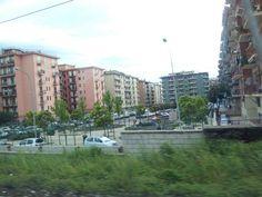 I palazzoni della periferia di Salerno