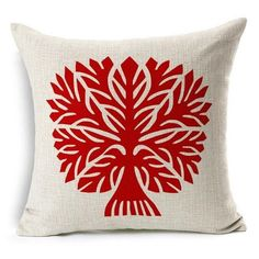 Geometric decoration Pillowcases Square Linen Cotton Pillow Cover Sofa Chair Cushion Cover