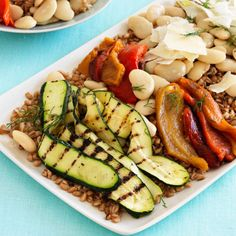 Toasted Farro With Roasted Vegetables and Fennel Recipe - Health Mobile