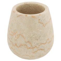 Tandborstmugg STONO av marmor - Designade Badrums Accessoarer Online