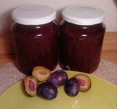 Food Storage, Food Art, Plum, Food And Drink, Jar, Chocolate, Fruit, Vegetables, Recipes
