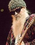 """Billy Gibbons of Houston's very own """"Little 'Ole Band from Texas,"""" ZZ Top."""