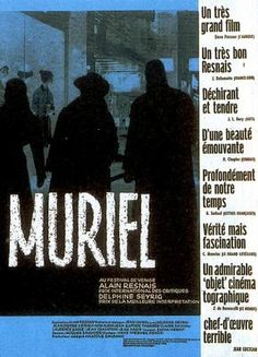 A Tela da Reflexão: Filme Reflexivo - Muriel ou Tempo de um Retorno