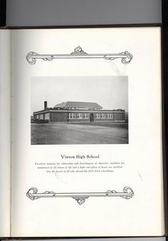 """William Byrd known in the 1920's as """"The Vinton School"""" in Vinton, VA  (Year book called The Black Swan)"""