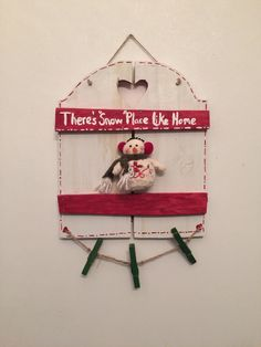 A personal favorite from my Etsy shop https://www.etsy.com/listing/256957492/hand-painted-snowman-sign