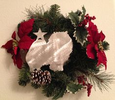 Pomeranian Dog Tree Topper Holiday Decoration by ScreenDoorGrilles