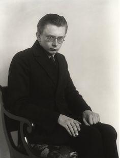 August Sanders - portrait of Erich Sander, 1926
