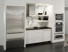 36+ Awesome Kitchen Ideas With Integrated Refrigerator