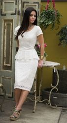 At JenClothing, we sell modest clothing: casual dresses, prom dresses, bridesmaid dresses and modest swimwear. Our modest dresses are designed to meet LDS (Mormon) modesty standards by covering the shoulders with sleeves, covering the back and chest, and covering the legs at least to the knee. Thanks for visiting!