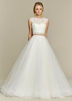 770 Best Crop Top Two Piece Wedding Dresses Images In 2019 Bridal
