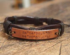 CYBER MONDAY SALE Coordinates Bracelet, Engraved latitude Bracelet, stamped Longitude bracelet, customized bracelet, personalized jewelry
