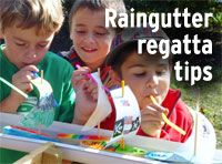Make the ultimate raingutter regatta racer -- Boys' Life magazine