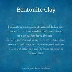 Hydrating Facial Mask - What is Bentonite Clay? Sea Moss, Even Out Skin Tone, Bentonite Clay, Best Face Mask, Reduce Inflammation, Facial Masks, Healthy Skin, Benefit, Skincare