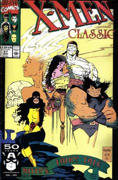 X-Men Classic #57 by Mike Mignola