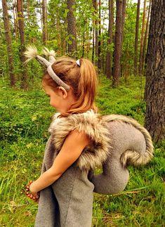 Inspiration & Accessoires: Eichhörnchen-Kostüm selber machen