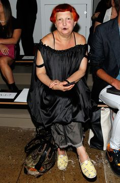Lynn Yaeger Pictures - Cushnie Et Ochs - Front Row - MADE Fashion ...